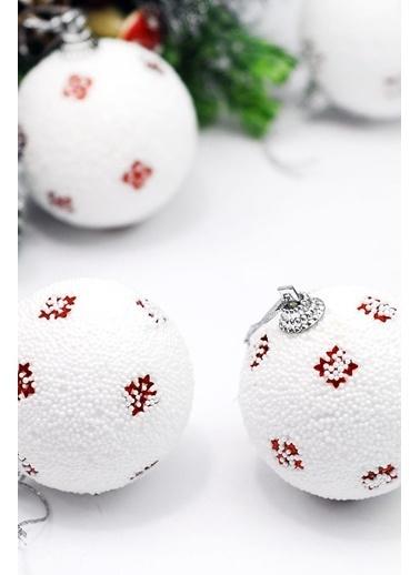Funbou Yılbaşı Süsü, Kar Topları / Kutu (12'Li) Beyaz